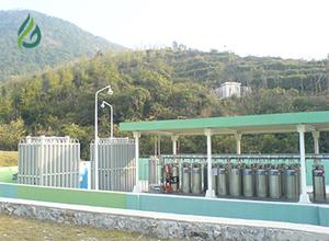 工业气体充装站